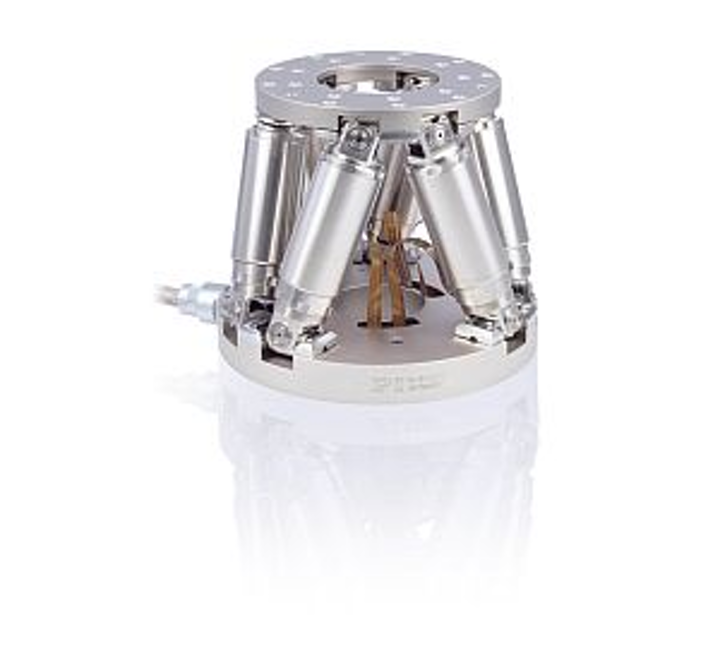 Physik Instrumente (PI) M-811.STV vacuum-compatible hexapod six-axis positioner