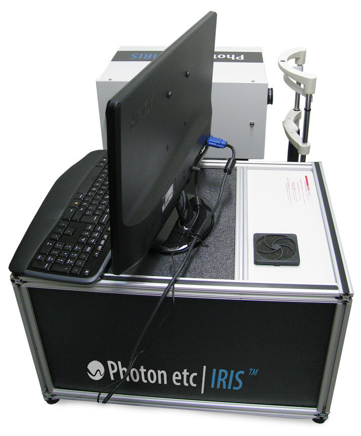 IRIS retinal hyperspectral imaging system from Photon etc.
