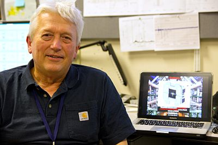 Janos Hajdu, visiting professor of photon science at Stanford University and professor of molecular biophysics at Uppsala University in Sweden, has participated in several rounds of experiments at SLAC's Linac Coherent Light Source studying giant viruses, including samples of Megavirus and Mimivirus