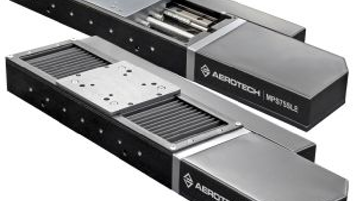 MPS75SLE linear positioning stage from Aerotech